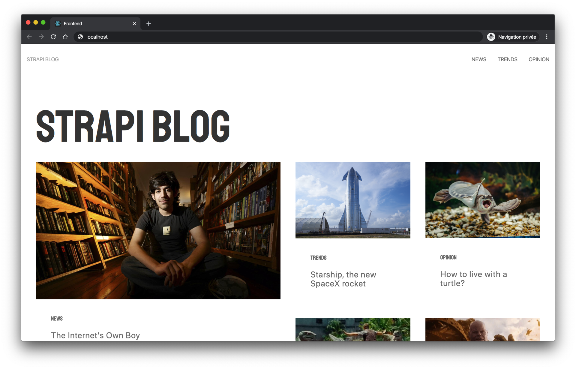 build a blog using strapi vue and apollo build a blog using strapi vue and apollo