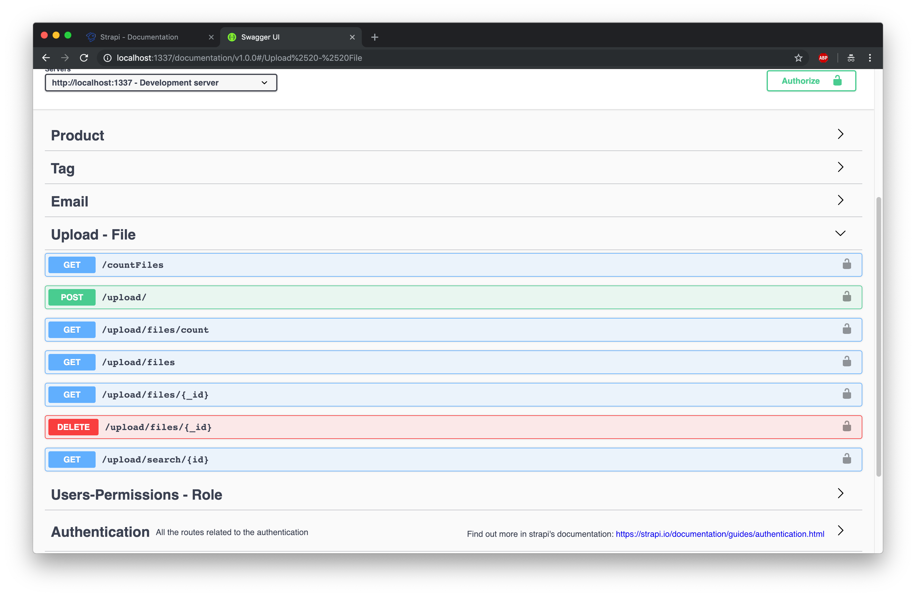 Introducing the API Documentation (Swagger) Plugin